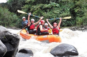 Adventure and Fun River Rafting in Baños Ecuador