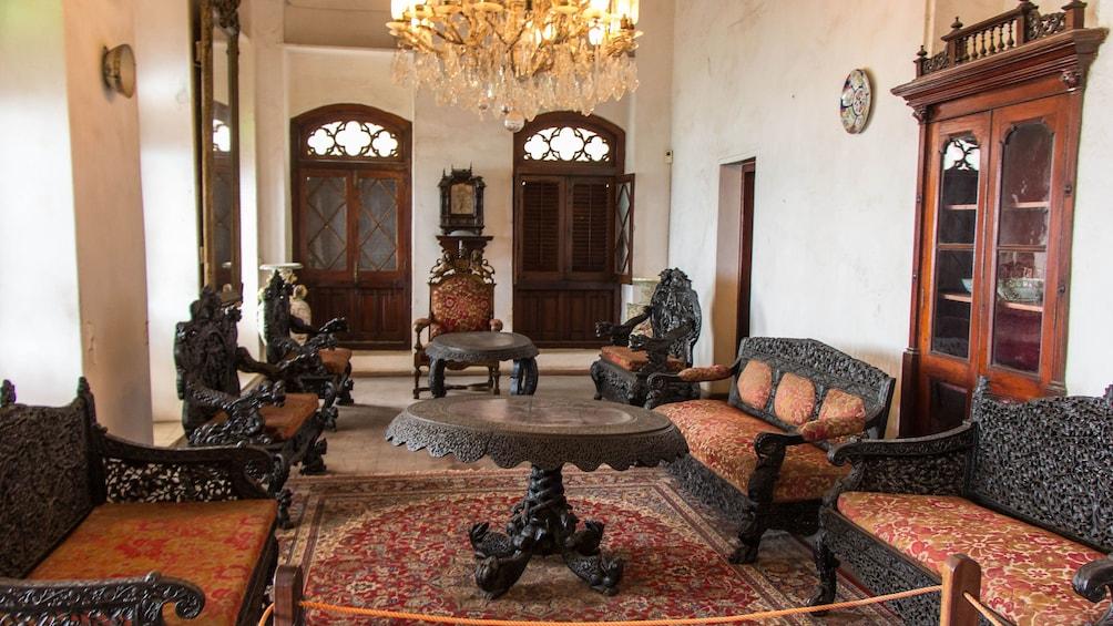Preserved luxury interior in Salaam