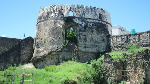 Tower of the Stone Town in Salaam