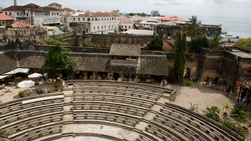 Old outdoor theater in Salaam
