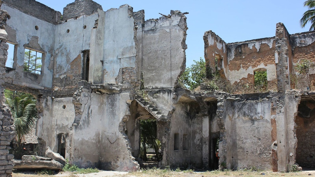 Show item 1 of 5. Ruined structures at Bagamoyo in Dar es Salaam