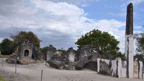 Visiting the Bagamoyo ruins in Dar es Salaam