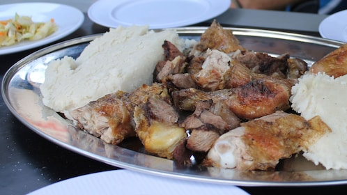 platter of meat options in africa