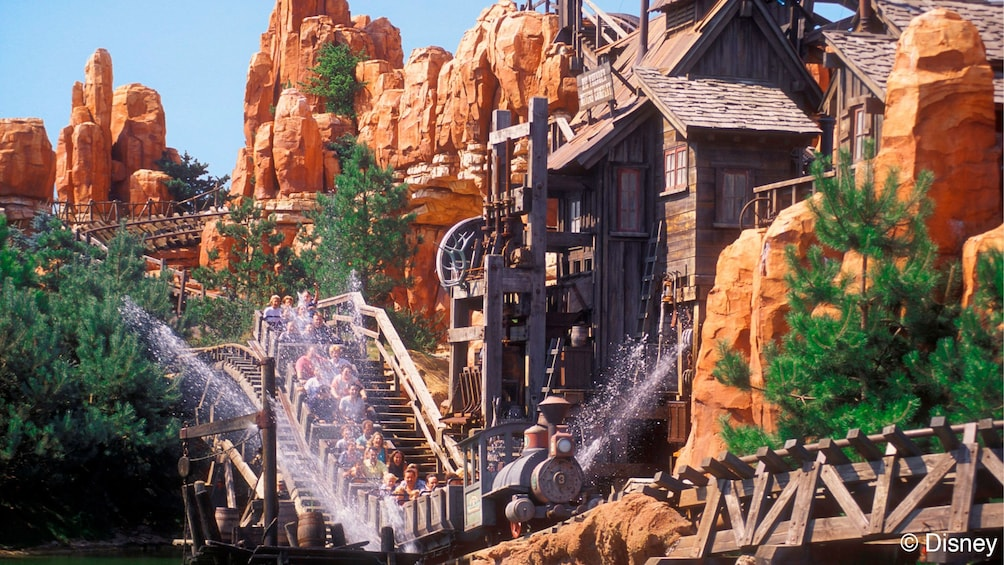 Foto 3 van 7. Ride at Disneyland Paris