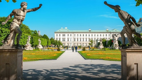 Mirabell Palace Building in Salzburg, Austria