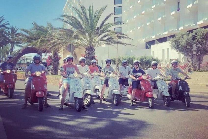 Ibiza Vespa Tour