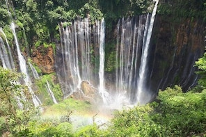 Day Tour - Tumpak Sewu Waterfall and Goa Tetes Trekking via Malang