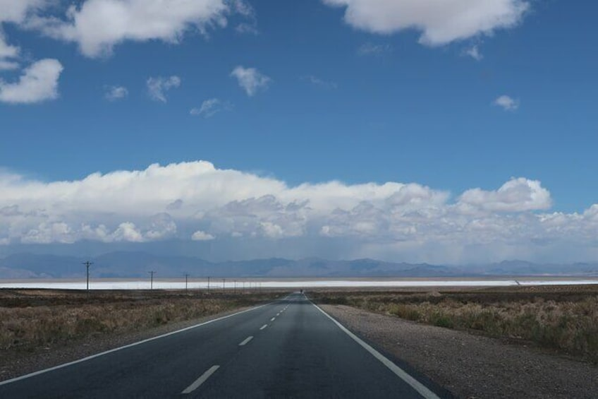 Show item 4 of 30. From Purmamarca to Salinas Grandes
