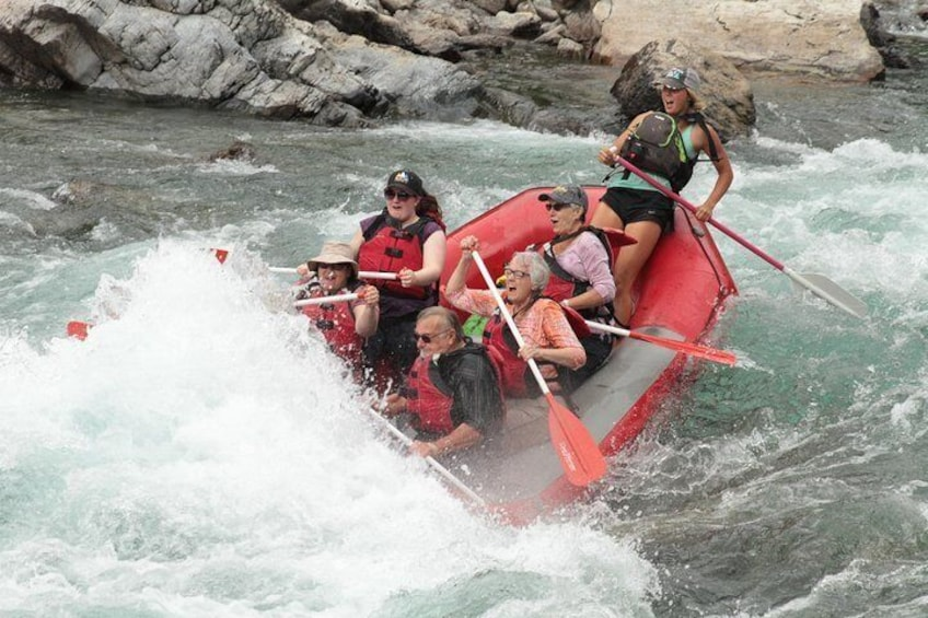 Show item 2 of 9. Half-Day Glacier National Park Whitewater Rafting Adventure