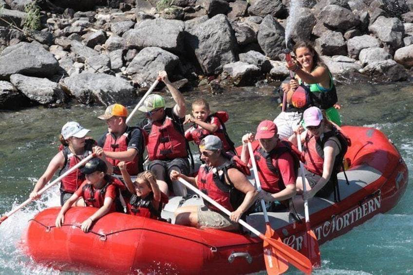 Show item 5 of 9. Half-Day Glacier National Park Whitewater Rafting Adventure