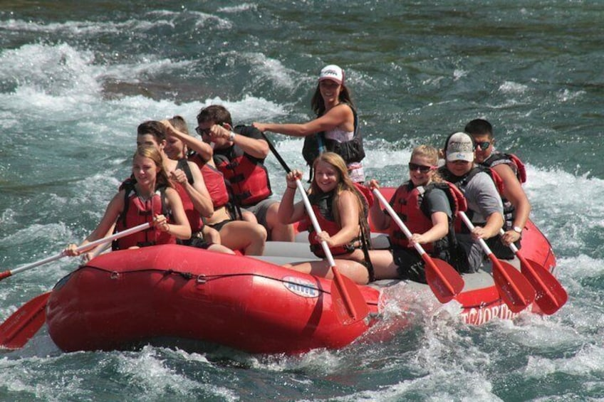 Show item 3 of 9. Half-Day Glacier National Park Whitewater Rafting Adventure