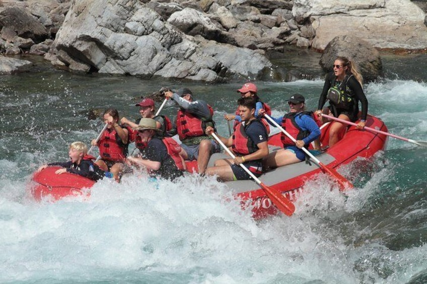 Show item 4 of 9. Half-Day Glacier National Park Whitewater Rafting Adventure