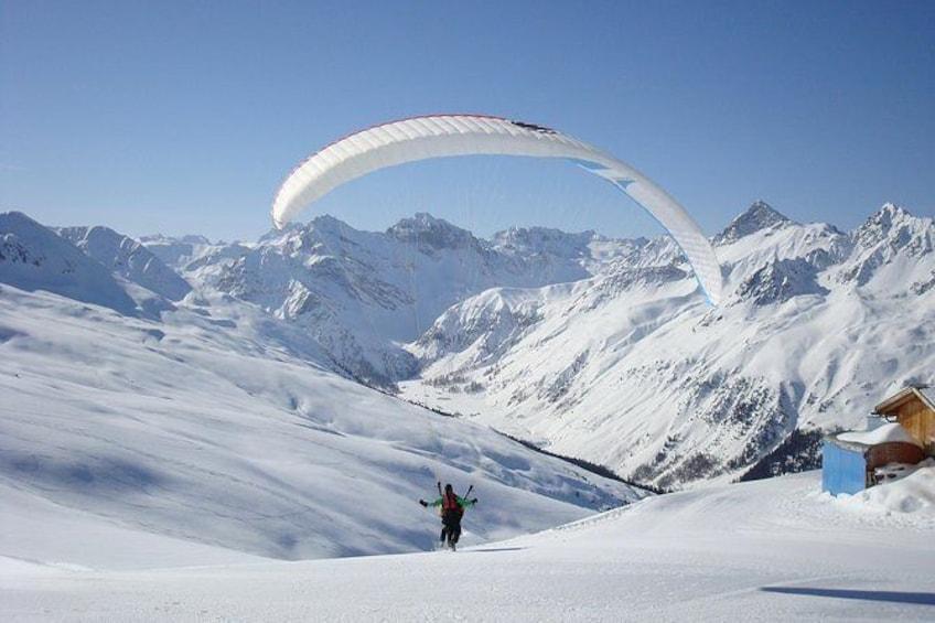Show item 3 of 17. Take off winter Davos