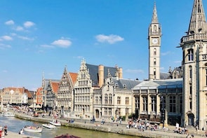 Corona-proof Full Day Private Experience to Medieval Ghent from Holland (ma...