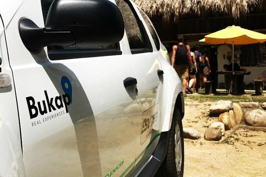 Private transportation service from Barranquilla to Tayrona Park