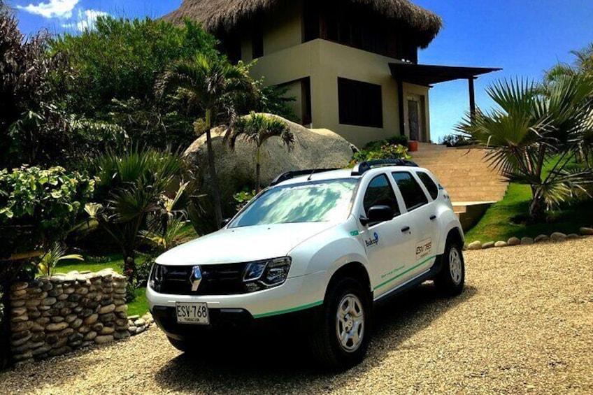 Private transportation service from Barranquilla to Los Naranjos