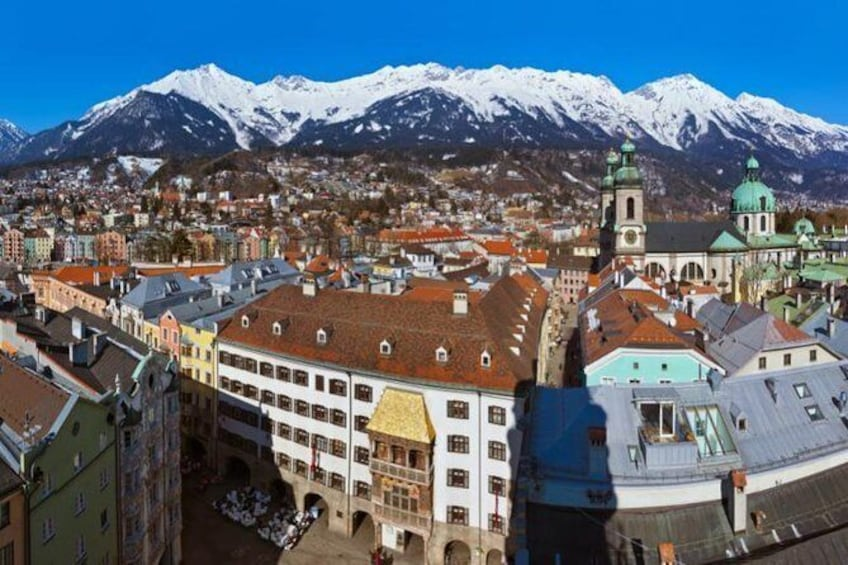 Show item 3 of 3. Day Trip from Salzburg to Innsbruck