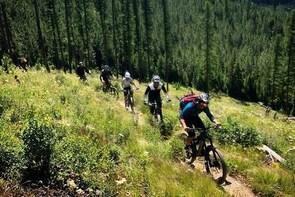 Tally Lake Mountain Bike Tour