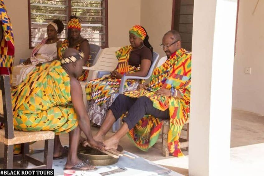 Traditional Naming Ceremony For African Americans In Kumasi