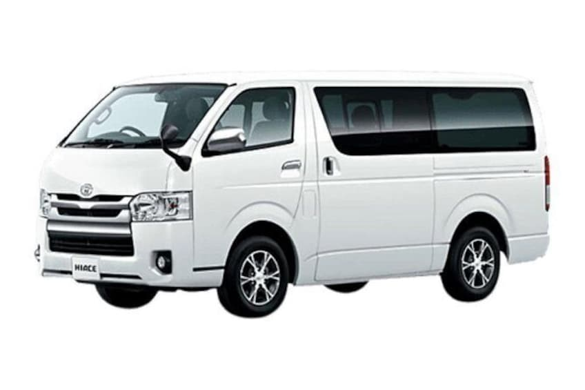 Minivan TOYOTA HIACE 2019 (Max 9 Pax)