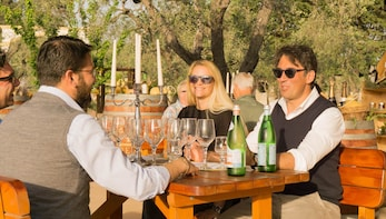 Sensorial Wine Tasting at the winery in Vieste