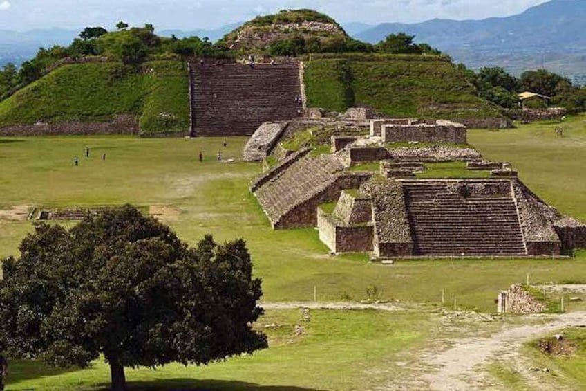 Show item 1 of 11. Combo 2 days in Oaxaca to visit Monte Alban and Mitla with Hierve el Agua
