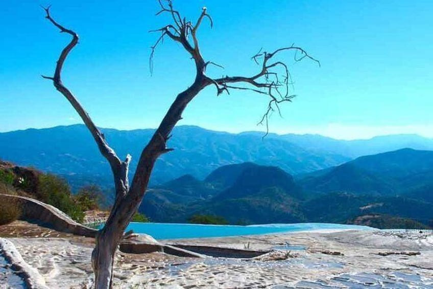 Show item 5 of 11. Combo 2 days in Oaxaca to visit Monte Alban and Mitla with Hierve el Agua