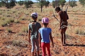 Survival Craft Safari in Kalahari Desert