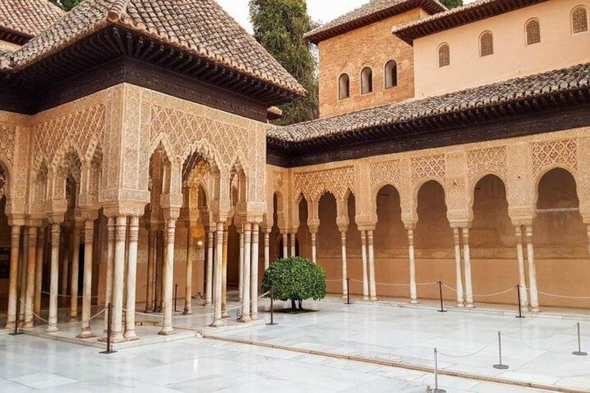 Shore excursion to Nasrid Palaces in Granada
