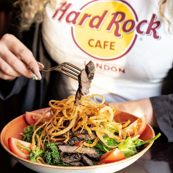 Hard Rock Cafe Manchester Dining with Priority Seating