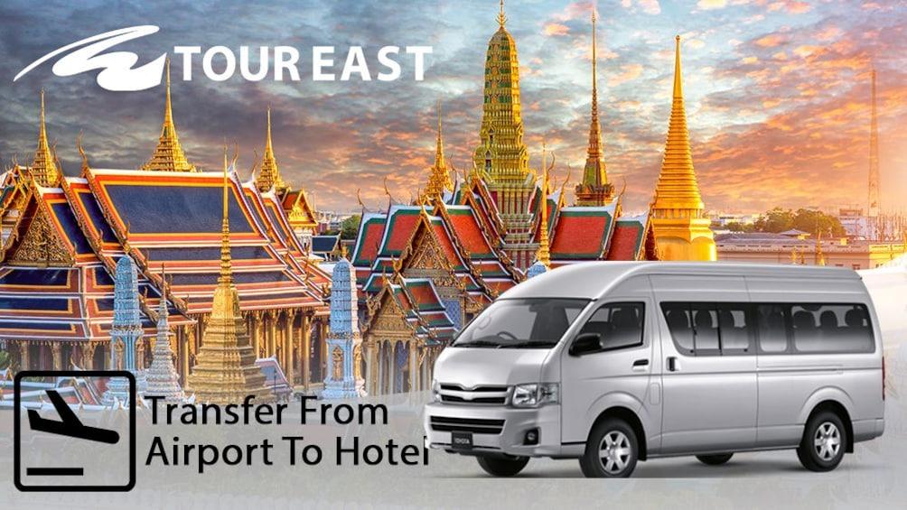แสดงภาพที่ 1 จาก 2 Private Minivan: Bangkok- Ch-am