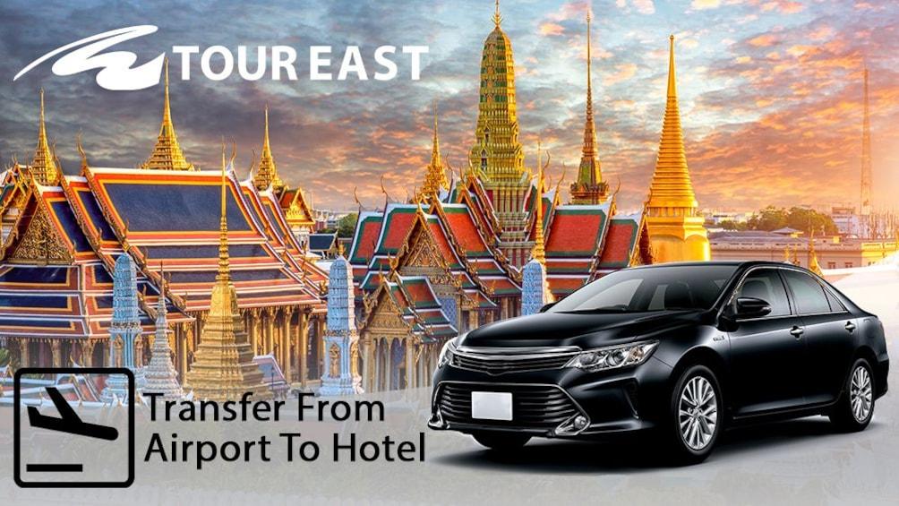 แสดงภาพที่ 1 จาก 2 Private Sedan: Bangkok- Ch-am