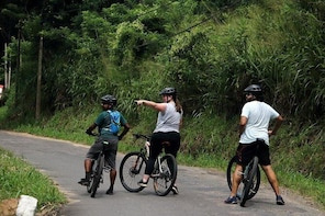 Cycling in Kandy