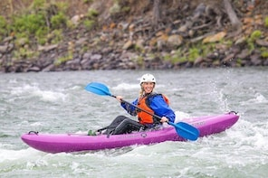 Half Day Kayak down the Yellowstone River with a Seasoned Instructor