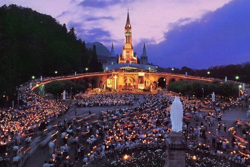 Show item 1 of 4. Lourdes 3 day Pilgrimage private Tour