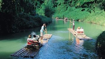Martha Brae River Bamboo Rafting