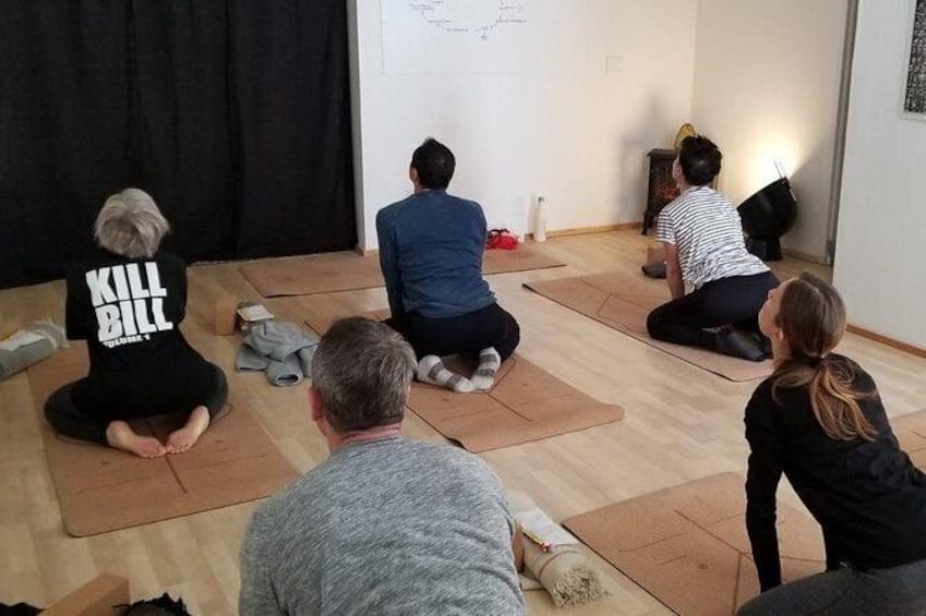 Show item 2 of 3. Yoga classes