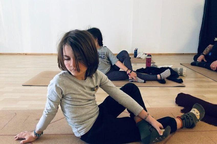 Show item 3 of 3. Yoga classes