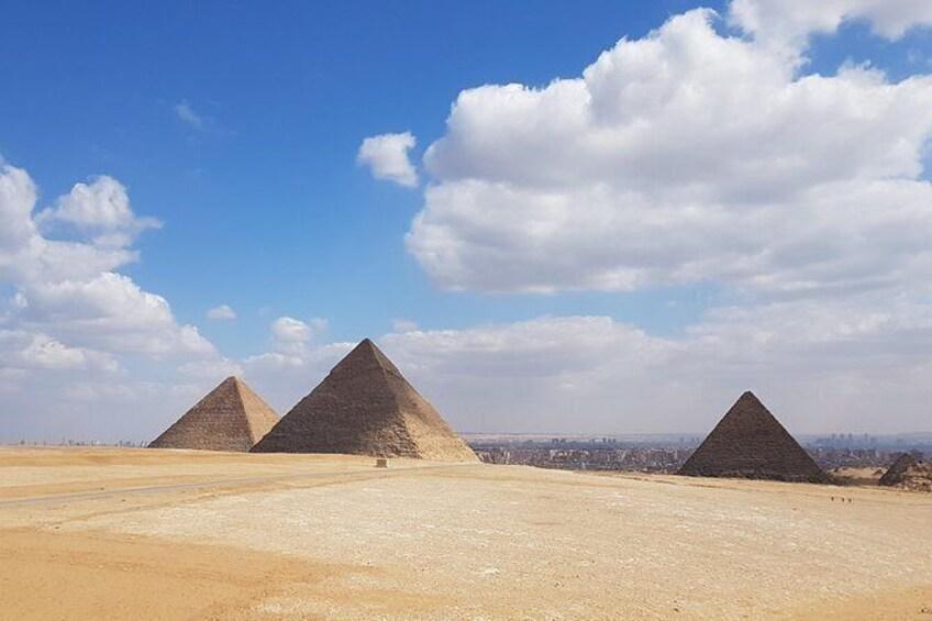 Show item 1 of 5. Explore Giza plateau