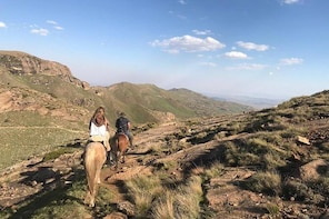 Off the beaten track horseback riding holidays in South Africa and Lesotho