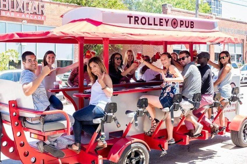 Show item 1 of 8. Trolley Pub Public Tour