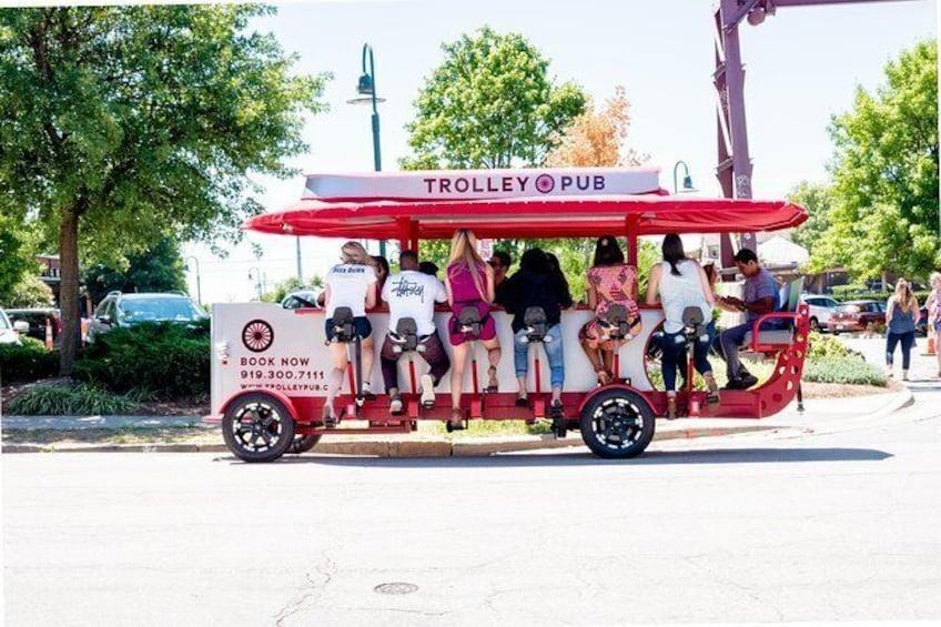 Show item 2 of 8. Trolley Pub Public Tour