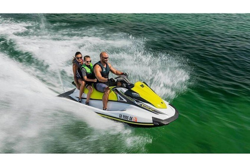 Jet Ski Rentals with No Riding Restrictions