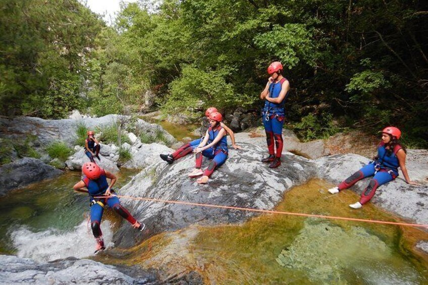 Show item 3 of 23. Canyoning Adventure
