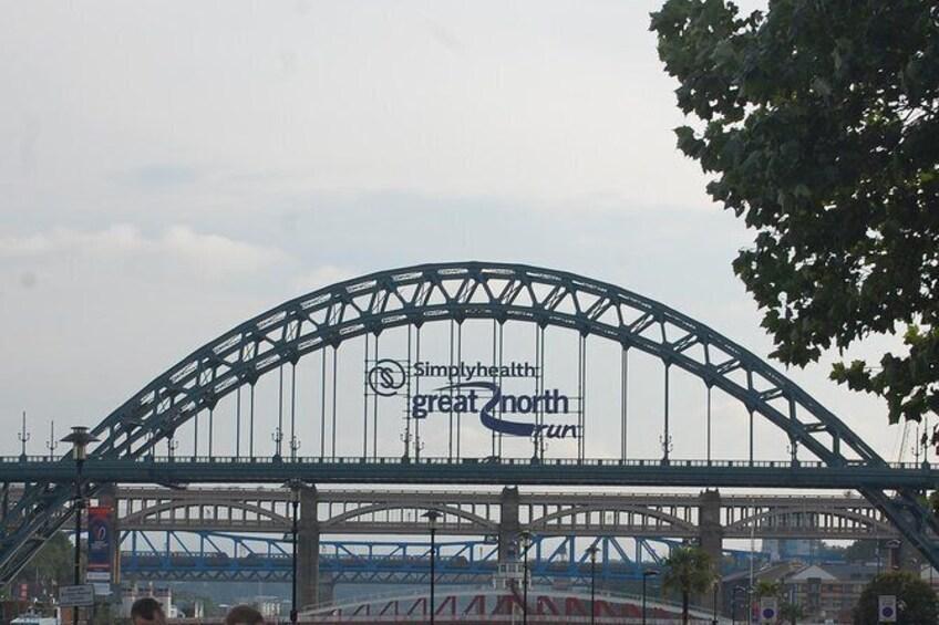 Show item 3 of 7. The Tyne Bridge.