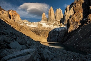 Torres del Paine National Park W Trek Chile 5 day Private Hike & Catered me...