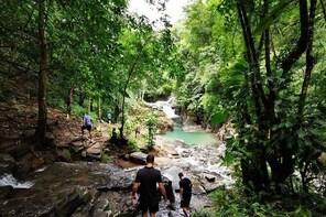 Waterfall & Natural Pools