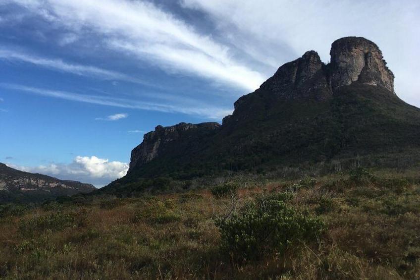 Aguas Claras Day Hike departing from Lençóis by Diamantina Mountains