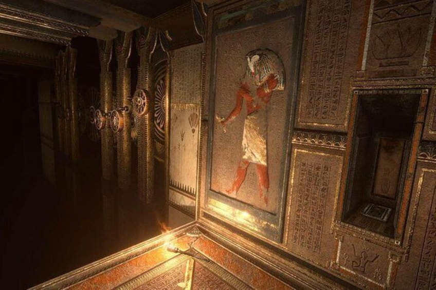 Show item 7 of 7. Ubisoft Escape The Lost Pyramid is an two player escape game in Virtual Reality