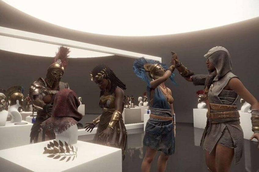 Ubisoft Beyond Medusa's Gate is an two player escape game in Virtual Reality